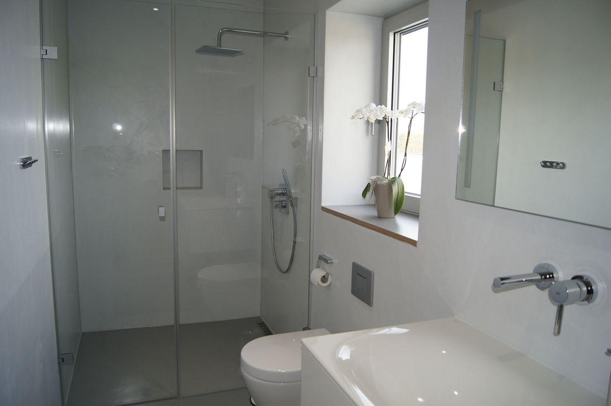 bad ohne fugen b der mit zement gestalten fugenlos. Black Bedroom Furniture Sets. Home Design Ideas