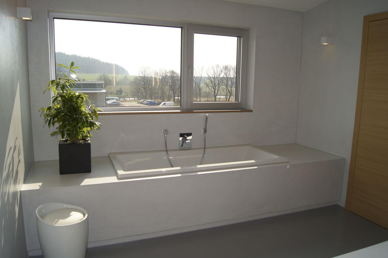 Bad ohne Fugen,Bäder mit Zement gestalten  fugenlos-modern.de